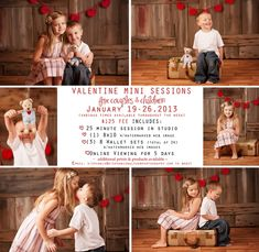 Valentine Mini Sessions | Stephanie Hulthen Photography