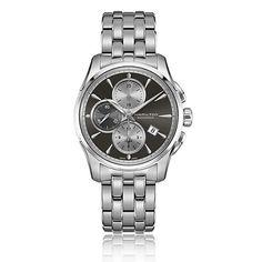 Hamilton Jazzmaster Auto Chrono Stainless Steel Watch