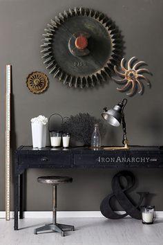 Vtg INDUSTRIAL FOUNDRY MOLD, Antique Wood Wooden Pattern Gear Wheel Steampunk in Industrial Molds | eBay