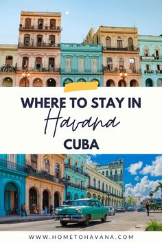 A complete guide to the best Airbnbs, casas particulares, hotels, and hostels in Havana, Cuba - with our favorite and best-kept local booking secrets just for you. This accommodation guide was made to help you find the best place to stay in Cuba so that you have the best Cuba travel experience. Cuba Travel, Havana, The Good Place, Travel Tips, Travel Photography, Just For You, Adventure, Mansions, House Styles