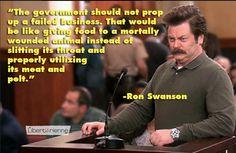 Well said Ron, well said