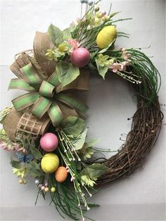 60+ Attractive Easter Wreaths that looks Fancy & Captivating - Ethinify