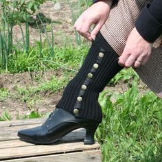 Recollections: Knitted Gaiters