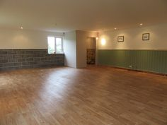 The new flooring is laid