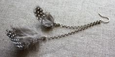 Amy Cornwell Designs: Sassy Feather Earring Tutorial