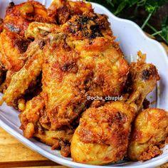 Resep olahan ayam sederhana © 2020 brilio.net Instagram/@yulichia88 ; Instagram/@novita._.sari Indonesian Food, Indonesian Recipes, Tandoori Chicken, Chicken Wings, Tofu, Food And Drink, Meat, Cooking, Ethnic Recipes