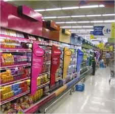Image result for supermarkets shelf branding ideas