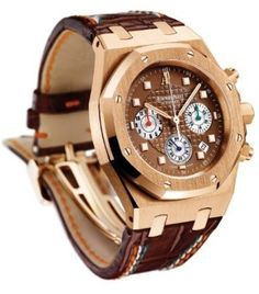 Audemars Piguet Royal Oak Mens 18K Rose Gold Automatic Chronograph Limited Edition Watch 26161OR.OO.D088CR.01  Price : $50,500.00 http://www.blountjewels.com/Audemars-Piguet-Automatic-Chronograph-26161OR-OO-D088CR-01/dp/B00276P14K