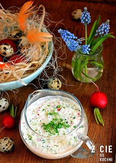 Polish Easter, Easter Dishes, Magic Recipe, Cooking Recipes, Healthy Recipes, Polish Recipes, Holiday Recipes, Salad Recipes, Catering