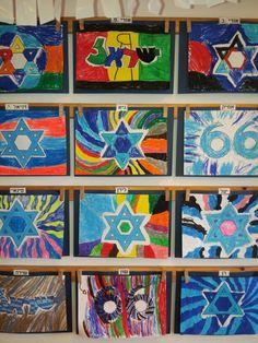 Yom haatsmaut Sunday School Activities, Sunday School Crafts, Art Activities, Jewish Crafts, Jewish Art, School Art Projects, Arts And Crafts Projects, Israel Independence Day, Lion Craft