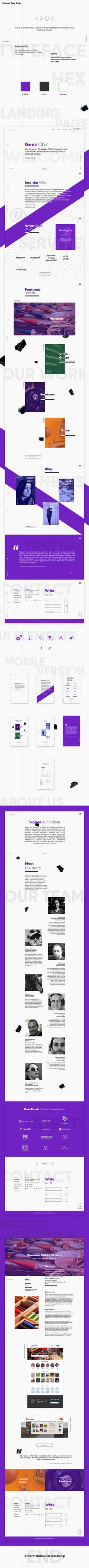 "Check out my @Behance project: ""ARCK - Web Design, Final Pitch"" https://www.behance.net/gallery/51253455/ARCK-Web-Design-Final-Pitch"