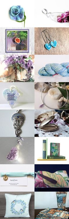 Lavender Blue by Linda Karen on Etsy--Pinned+with+TreasuryPin.com