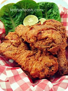 Spicy Buttermilk Fried Chicken | Feats of Feasts | A Food Blog