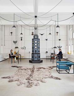 Roderick Vos // Dutch Product Designer & His Rocking Showroom in Den Bosch.