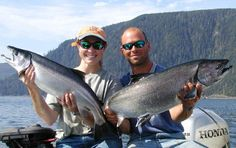 Go on an Alaskan fishing trip with my baby