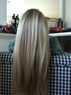 California bronde... Part brown part blonde