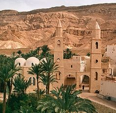 the christian monastery of saint anthony or deir mar antonios is the . Monuments, Le Nil, Modern Egypt, St Anthony's, Rivers And Roads, Church Pictures, Valley Of The Kings, Church Architecture, Christian Church