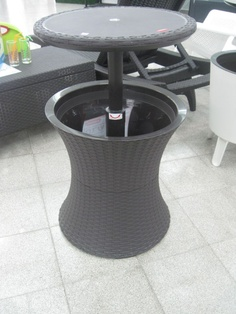 Cool Bar For Outdoor Patio Cool Ice Cooler Bar Table Blue Or Brown Or Red