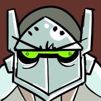 Overwatch Genji artwork / icon,'