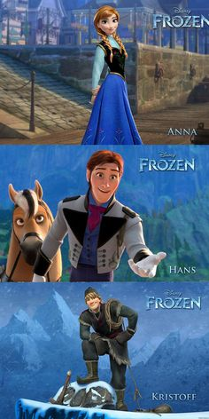 Disney Movie Frozen Characters