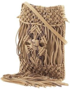 ShopStyle: Lucky Brand Macrame Fringe Small Crossbody