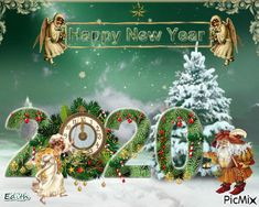 Happy New Year Greetings, Happy New Year 2020, Christmas Humor, Merry Christmas, Christmas Ornaments, Birthday Wishes, Happy Birthday, Anul Nou, Happy Friendship Day
