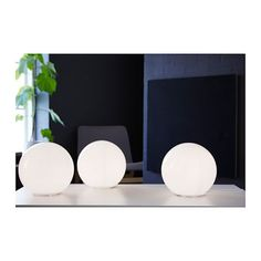 IKEA - FADO, Table lamp, , Gives a soft mood light. WIsh our Ikea carried this. Would be perfect in living room on top of bookcase White Bedroom Furniture Ikea, Home Furniture, Bedroom Decor, Mood Light, Lamp Light, Ikea Fado, White Table Lamp, Table Lamps, Banquette