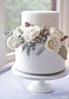 Зимняя свадьба с шишками | DiscoverWedding.ru