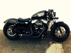 Feu de clignotant avant harley sportster 883 noir mat pour Harley Davidson XL883 XL1200 Sportster 92-up