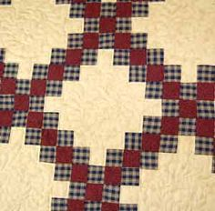 DOUBLE IRISH CHAIN QUILT PATTERN..........PC .............Double Irish Chain Quilt Pattern Amish Store, Irish Chain Quilt, Applique Ideas, Amish Quilts, Lancaster County, Amish Country, Quilt Bedding, Hand Quilting, Quilting Designs