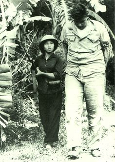 The Vietnamese female soldier who takes a U.S. soldier. 1966.   Insist that the North Vietnam forces shot down American air-force planes more than 1,600.