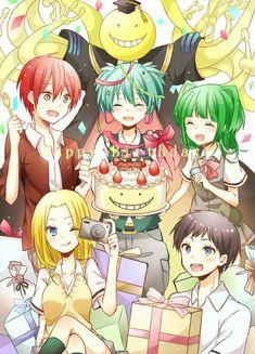 Assassination classroom Koro-sensei,Karma,Reo,Kaede & Nagisa