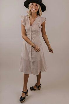 d8183e6e2cb The Warwick Linen Button Dress in Navy – Piper   Scoot