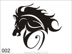 Airbrush tattoo stencil V002 Airbrush Tattoo, Tattoo Stencils, Dragon Ball Z, Les Oeuvres, Adhesive, Design, Tatoo, Temporary Tattoo, Patterns