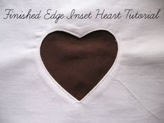 Inset Heart Tutorial for Valentine's Day Sewing Projects - sew-whats-new.com