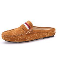 Image result for mens slip on loafers no back