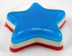 Red, White and Blue 4th of July Jello Shots Recipe