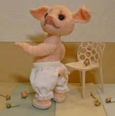 Хрюшки, кабаны, поросята. Мастер-классы – ВЯЗАНИЕ для ХОМЯКОВ Teddy Bear, Pigs, Crochet, Animals, Early Education, Craft, Amigurumi, Animales, Animaux