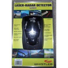 Whistler XTR-538 Cordless Laser / Radar Detector Radar Detector, Mobile Accessories, Whistler, Consumer Electronics