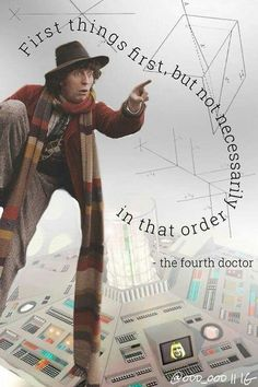 4th Doctor (how did Holly get in the TARDIS?)