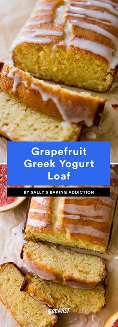 Grapefruit Recipes: 9 Healthy Ways to Enjoy the Fruit Greek Yogurt Cake, Yogurt Bread, Grapefruit Recipes Dessert, Dessert Recipes, How To Eat Grapefruit, Dessert Ideas, Breakfast Recipes, Delicious Desserts, Yummy Food