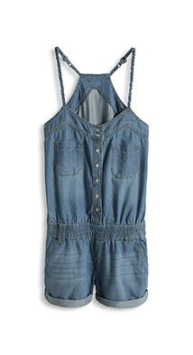 ESPRIT short denim jumpsuit