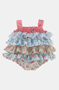 Ralph Lauren Ruffle Coveralls (Baby Girls) available at  Nordstrom Cute Baby  Girl, dcf25cf5033