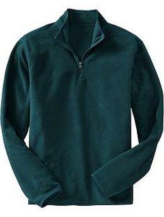 Old navy Mens Performance Fleece Mock-Neck Pullovers red wine vinegar