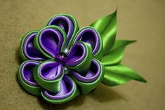 Kanzashi | Kanzashi made by me | Mao_Sakuraba | Flickr