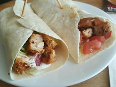 Chicken Sovelaki Wraps.