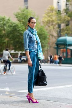 On the Street….Eighth St., New York « The Sartorialist