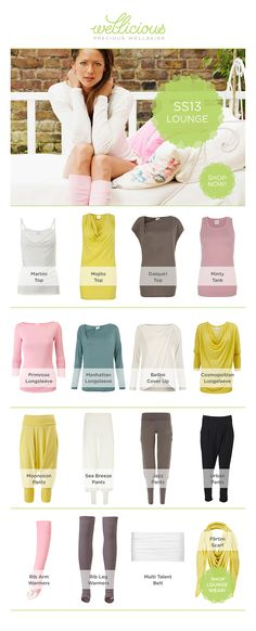 Indulge in Wellicious Luxury Loungewear /  Relax in style in our incredibly comfortable and soft Loungewear. These stylish pieces are very feminine and flattering and are created from the highest quality yet eco-friendly materials. Our Loungewear can be worn in every setting; from lounging around at home, meeting your friends for lunch, on the way to your Yoga or Pilates class or just picking the kids up from school.    Shop Now: http://www.wellicious.com/loungewear.html