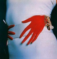 Francois Lesage's Trompe L'oeil Belt, 1986