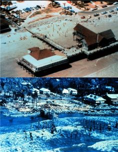 The Atlantic House Restaurant Before and After Hurricane Hugo 9/23/89...and my favorite restaurant was no more. It was so hard to believe!!!